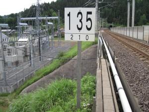 速度制限標       47k538m